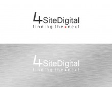 Logo design for the 4 Site Digital