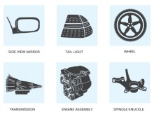Automotive Parts – Illustrations