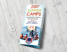 2017 Summer Camps – trifold flyer